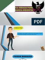 Pancasia sebagai pandangan hidup bangsa indonesia