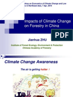 Impacts of Climate Change on Forestry in China