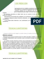 TECNICAS DE PREDICCI+ôN