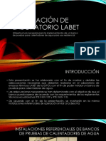 Adecuación de Laboratorio Labet