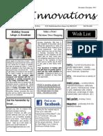 November-December 2017 Newsletter