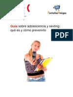 Guía Adolescentes y Sexting Que Es y Como Prevenirlo