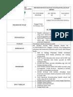 BP 001. SOP Penyusunan Standar Pelayanan Medis