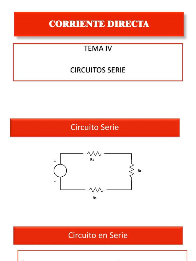 Circuito En Serie : Circuito serie