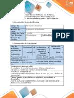 Guía y Rubrica de Evaluación - PFase 3. Determinar La Evaluación Económica y Análisis de Sensibilidad