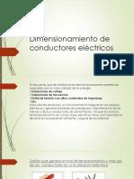 Dimensionamiento de Conductores Eléctricos