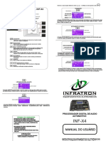 Manual Processador Infratron