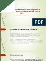 Decreto de Urgencia 37-2008