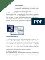 O Lançamento Do Windows 1