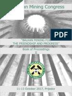 7th Balkan Mining Congress - Proceedings Book 2