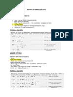 97097958 Resumen de Formulas de Excel
