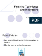 Fabric Finishes PPT
