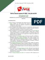 BO DS N2838 Incremento Salarial
