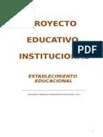 Formato Proyecto Educativo Institucional