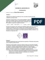 Informe de Laboratorio 6 - Cristaloquimica