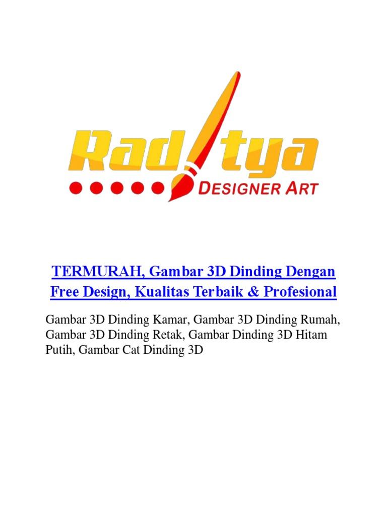 Termurah Gambar 3d Dinding Dengan Free Design Kualitas Terbaik