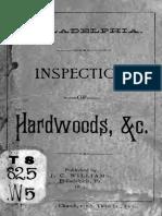Inspection of Hardwoods 1889