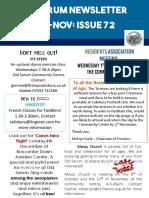 Oct-Nov 2018 OS Newsletter