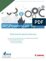 IRISPowerscan 10-Brochure En