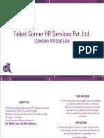 Talent Corner HR Services Pvt Ltd. Pune