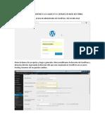 Migrar Wordpress Localhost a Servidor Web Hosting