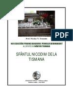 Sfantul Nicodim de La Tismana lucrare  omplexa