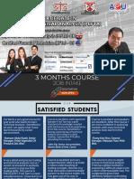 Pcfta 3 Months Course - 2018 Intake