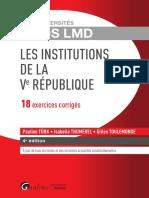 Lextenso étudiant - Histoire du droit et des institutions (corrigé détaillé)