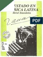 René Zavaleta Mercado-El estado en América Latina