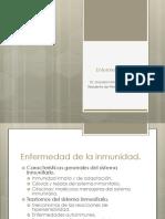 enfermedades de la inmunidad
