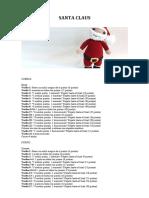 Santa Claus-Lanas y Ovillos-Esp