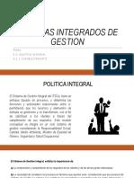 3.2 Sistemas Integrados de Gestion