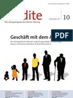 Geschäft mit dem Alter - Der demografische Wandel sorgt für gewaltige Umwälzungen - Daraus resultieren attraktive Investmentchancen