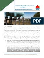Aprovechamiento de agua de lluvia para usos municipales. Un estudio del Ayto. de Soria (España)