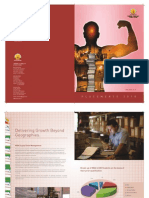 Placement Brochure of Logistics & Supply Chain 2009-10 for University of Petroleum & Energy Studies