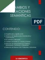 Cambios y Relaciones Semanticas(Nuevo)