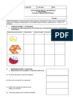 Evaluación de Fracciones Sexto.