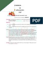 Cuento secuencia de educacion vial.doc