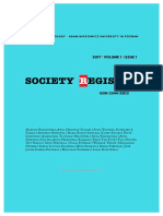Society Register 2017/1(1)