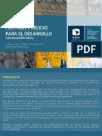 Flyer Maestria Politicas Publicas 2018