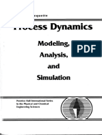 Process-dynamics Modeling Analysis and Simulation Wayne Bequette
