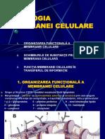 Fiziologia membranei celulare