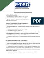 História Eclesiástica I - Unidade II - Pentecostes.docx