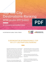 Top 100 City Destinations - Euromonitor