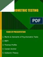 Psycho Metric Testing