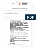 Fazer Teste_ Atividade Avaliativa - Módulo 1 (Valor 2,0 Pontos.