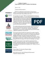 AFP Cut Carve Outs Coalition Letter
