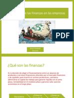 Funciones de Las Finanzas en Las Empresas