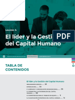 Leccion 3. Liderazgo y Gestion Del Capital Humano