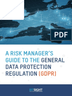 A Risk Manager's Guide to the General Data Protection Regulation - BitSight